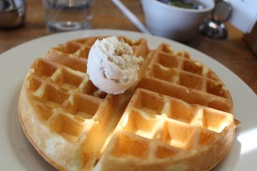 West Egg Cafe's Belgian Waffle
