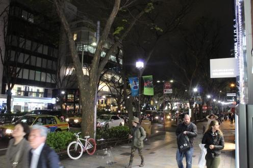 Harajuku night street