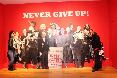 Never Give Up Cup Noodle Ramen Museum with Momofuku Einstein chef Robert Flowers and others