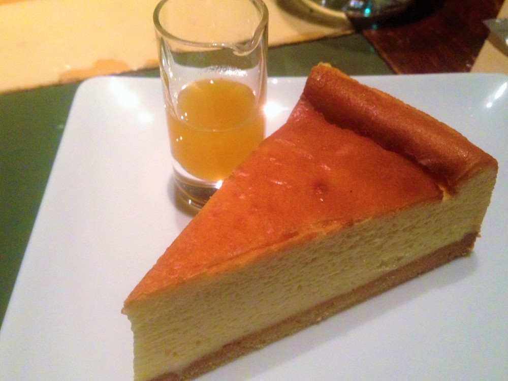 New York Style Cheesecake with citrus syrup.JPG