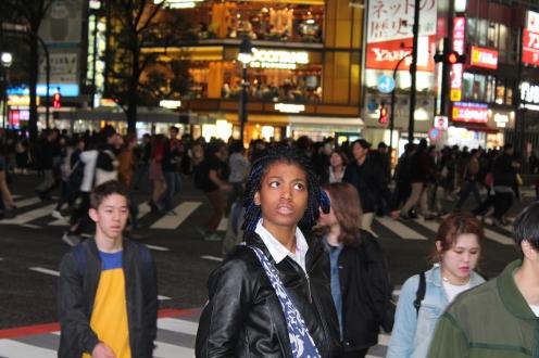 shibuya crossing confused