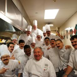 Chef Mustache culinary institute of america