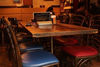 yokosuka shell table