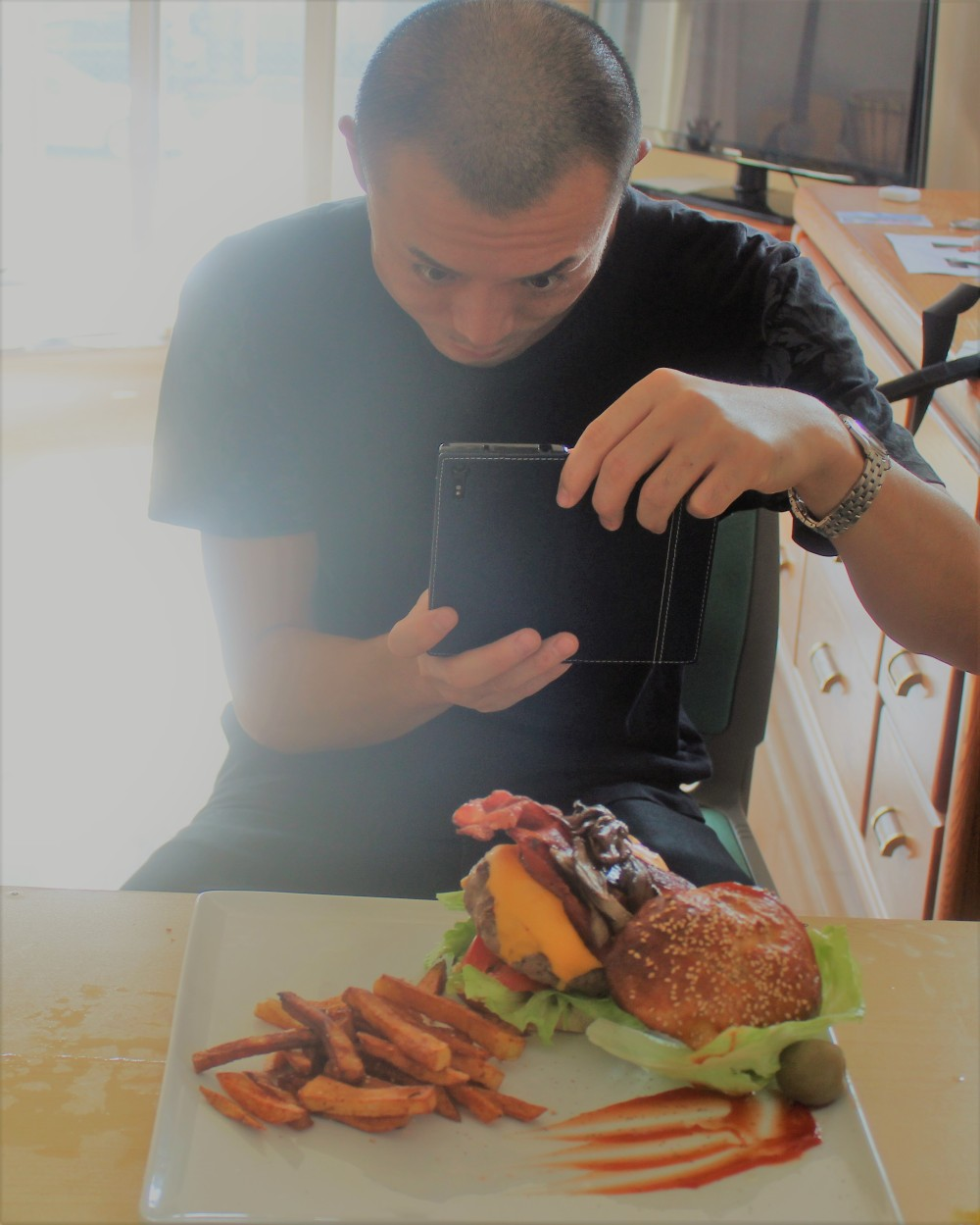 Picture perfect burger