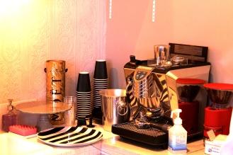 Lisa's Cake Market espresso maker